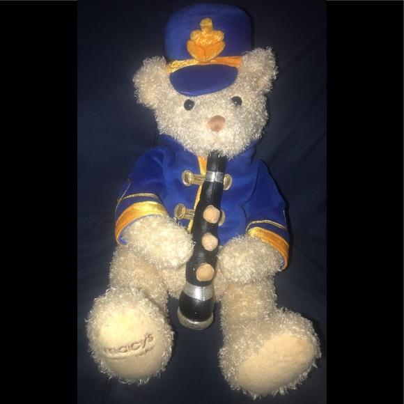 Exclusive Macy's 2004 Musical Yankee Doodle Bear